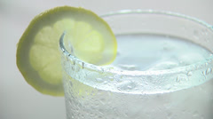 Cool drink - HD Stock Footage