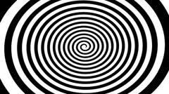 Hypnotize Spiral - stock footage