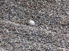 background of rubble stones - stock photo