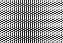 Iron perforated sheet Stock Photos