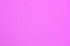 Water-drops on purple Stock Photos