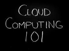 Stock Illustration of cloud computing 101
