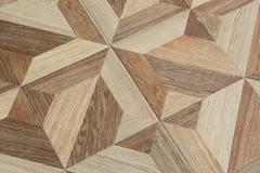 Wood grain pattern floor tiles Stock Photos