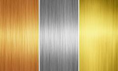 Stock Photo of metal textures