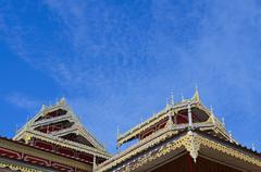 Tai Yai's Buddhaist Temple Stock Photos