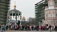The Trinity Lavra of St. Sergius, Sergiev Posad city, Russia Stock Footage