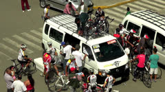 Bicycles, Cycling, Cyclists, Fun or Sports Stock Footage