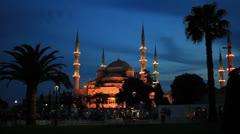 Sultan Ahmet Camii Stock Footage