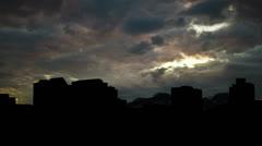 Alabama Huntsville dusk Stock Footage