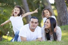 Stock Photo of hispanic family