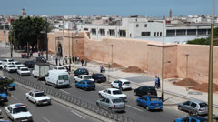 Rabat, Morocco - stock footage