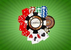 Stock Illustration of object casino