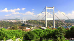 FSM Bridge, Istanbul Stock Footage
