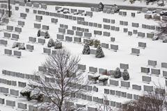 cemetery - stock photo