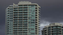 Apartment Building Timelapse Stock Footage