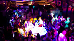 Nightclub Timelapse Stock Footage