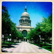 Texas Capital Building in Austin Texas Stock Photos
