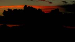 Alaska Mount McKinley sunrise Stock Footage