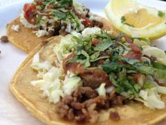 Stock Photo of Mexican Street Food Taqueria Tacos #2