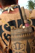 Reput heimojen Borneo Indonesia Kuvituskuvat