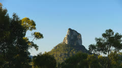 Glass house mountains Stock Footage