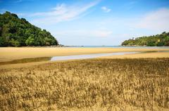 layan beach phuket thailand - stock photo