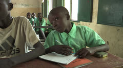School in South Sudan Stock Footage