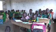 Stock Video Footage of School in South Sudan