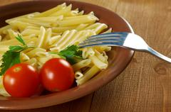 delicious macaroni pasta - stock photo