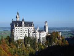 Schloss Neuschwanstein Stock Photos