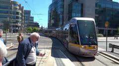 Luas Tram 2 Stock Footage