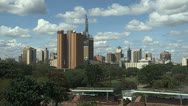 Stock Video Footage of Nairobi Skyline