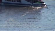 Pleasure boat Stock Footage