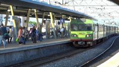 The Dart Train 2 Stock Footage