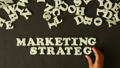 Marketing Strategy Stock Footage