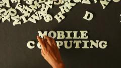 Mobile Computing Stock Footage