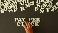 Pay Per Click Stock Footage