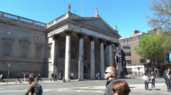 Dublin City Architecture 4 Stock Footage