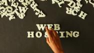 Stock Video Footage of Web Hosting