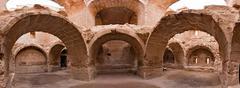 Syyria - Halabia, kaupunki Zenobia Kuvituskuvat