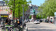 Walking in Copenhagen Stock Footage
