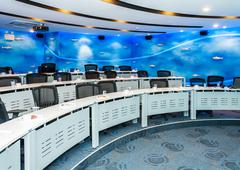 modern conference room - stock photo