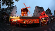Sex culture enthusiasts visit Moulin Rouge and the Erotic Museum Stock Footage