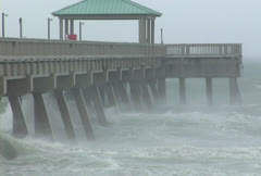 Hurricane Katrina - stock footage