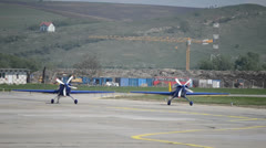 Aerobatics planes 5 Stock Footage