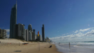 Stock Video Footage of surfers paradise