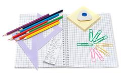 School accesories Stock Photos