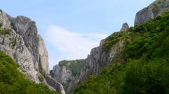 Turzii gorge time lapse 5 Stock Footage