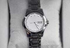 modern wrist watch - stock photo