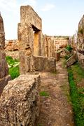 Syyria - Tartus muinainen Amrit Kuvituskuvat